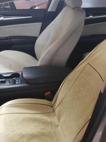 Ford Fusion Hybrid Dourado 2018 - Impecável - Vendo ou Troco (Japoneses/Alemães com Bx KM) - Foto 5