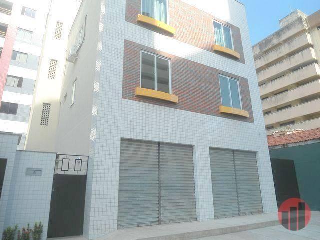 Kitnet com 1 dormitório para alugar, 35 m² por R$ 920,00 - Meireles - Fortaleza/CE