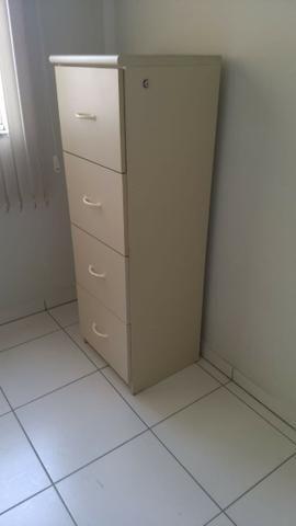 Mesa de escritório e arquivo para pastas suspensas - Foto 3