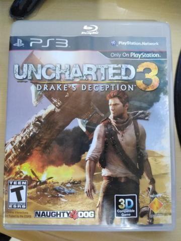 Jogo Uncharted 3 Drake's Deception para Playstation 3