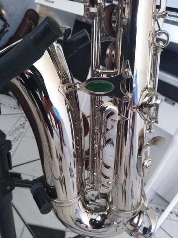 Sax alto Weril top de linha lindo - Foto 2