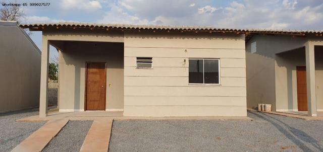 Casa para Venda em Várzea Grande, Jacarandá, 2 dormitórios, 1 banheiro, 2 vagas - Foto 6