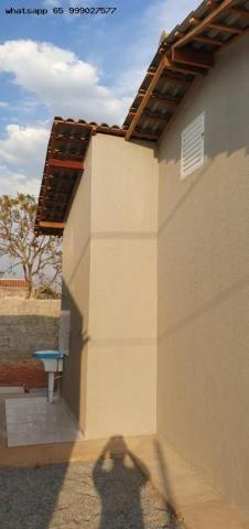 Casa para Venda em Várzea Grande, Jacarandá, 2 dormitórios, 1 banheiro, 2 vagas - Foto 7