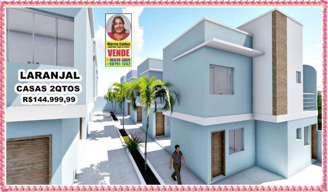 PSM# Laranjal Casas Top Com Garagem 2 Qtos Independentes 1ª locação - Foto 3