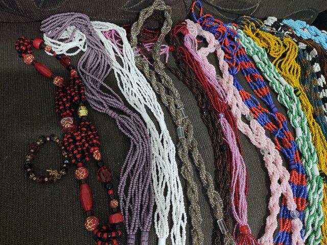 Guias, contas e cordão de orixá umbanda candomblé - Foto 4