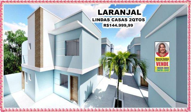 PSM# Laranjal Casas Top Com Garagem 2 Qtos Independentes 1ª locação - Foto 2