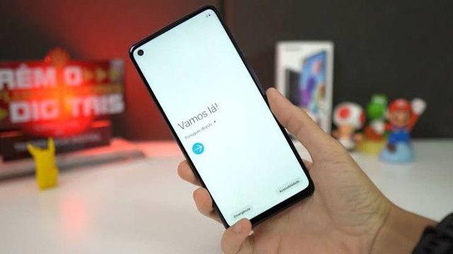 Samsung Galaxy A21s Dual SIM 64 GB branco 4 GB RAM - Foto 4