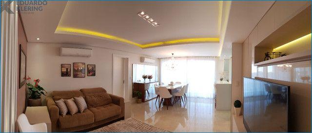 Apartamento com 3 dormitórios, 2 vagas, sacada com churrasqueira, infra completa, Dubai - Foto 2