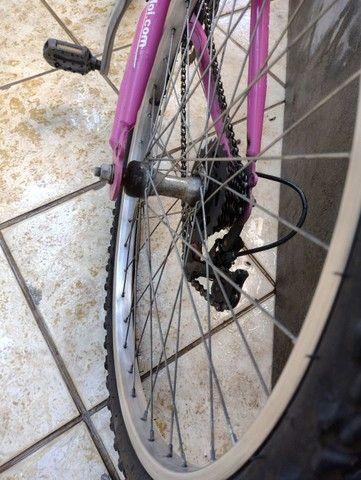 Bike Caloi feminina 24