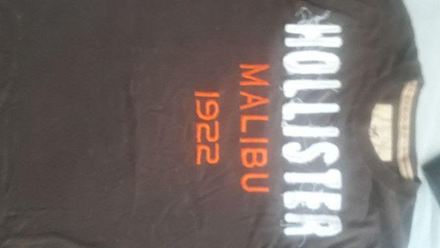 10 camisetas semi novas de qualidade - Foto 2