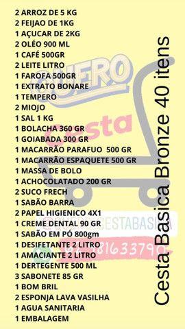 Cesta Basica 3 Modelos Ouro / Prata / Bronze - Foto 6