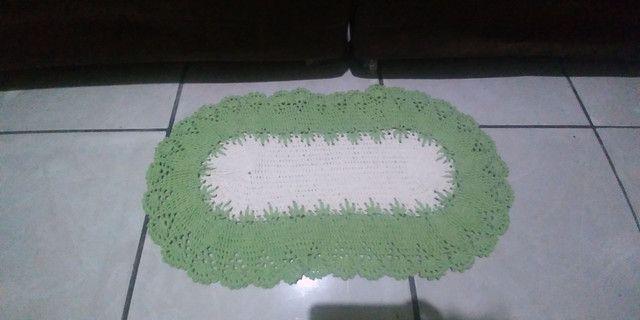 Super promoção de tapetes em crochê - Foto 3