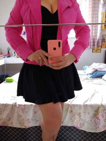 Vestido preto  tam p/m - Foto 3
