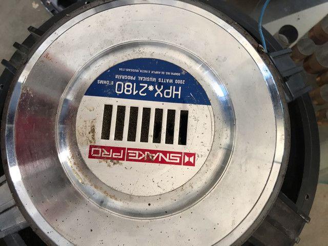 alto falante snake hpx 2180/1000 watts rms de 18 polegadas 8 ohms - Foto 4