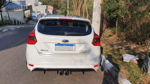 Ford Focus Titanium 2.0 Powershift + Escapamento Ford RS + Parachoque em Fibra - Foto 3