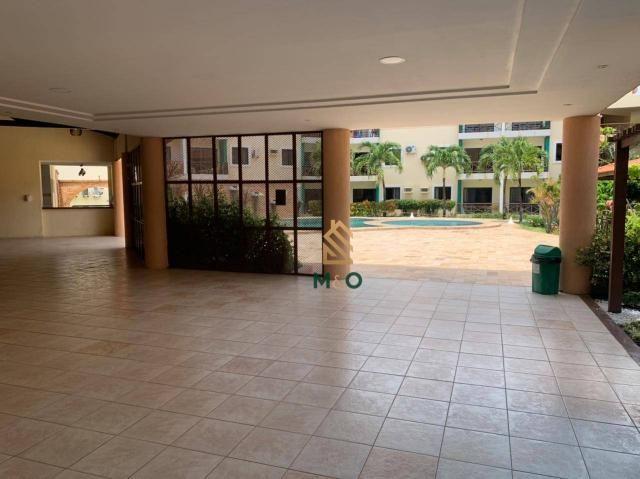 Apartamento com 1 dormitório para alugar, 52 m² por R$ 1.300/mês - Porto das Dunas - Aquir - Foto 6