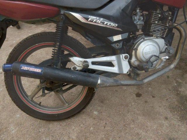 Vendo ou Troco Factor 125cc Completa Em Dias. - Foto 3