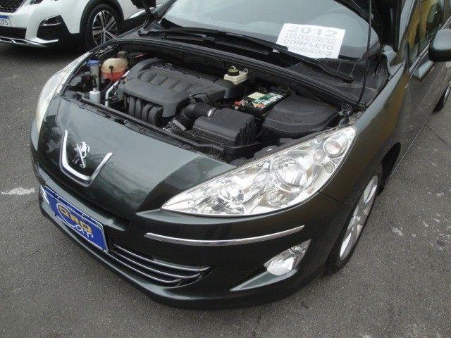 Peugeot 408 2012 2.0 Flex Automático Abs Air Bags Ar Cond Dir USB/MP3 Player - Foto 18
