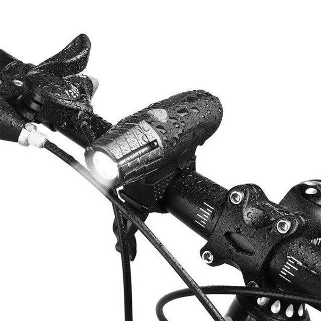 Farol de Bicicleta Raypal RPL-2256 200 Lumens Destacável Usb Recarregável - Foto 2