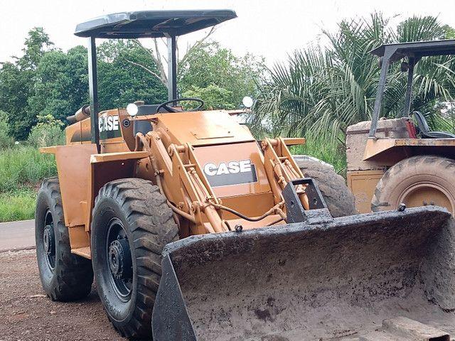 Carregadeira Case W7E 4x4 reduzida revisada - Foto 2