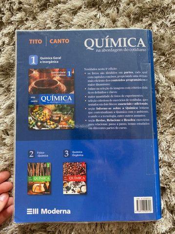 Livro de Química na abordagem do cotidiano Tito Canto editora moderna - Foto 2