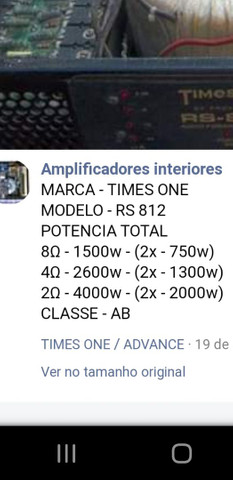 TIMES ONE RS-812 4000w rms - Foto 2