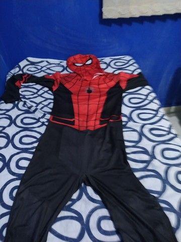 Fantasia Homem Aranha - Foto 5