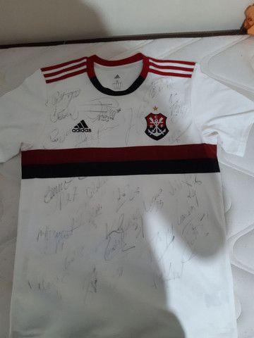 Camisa do Flamengo com todos altogrfos  - Foto 4
