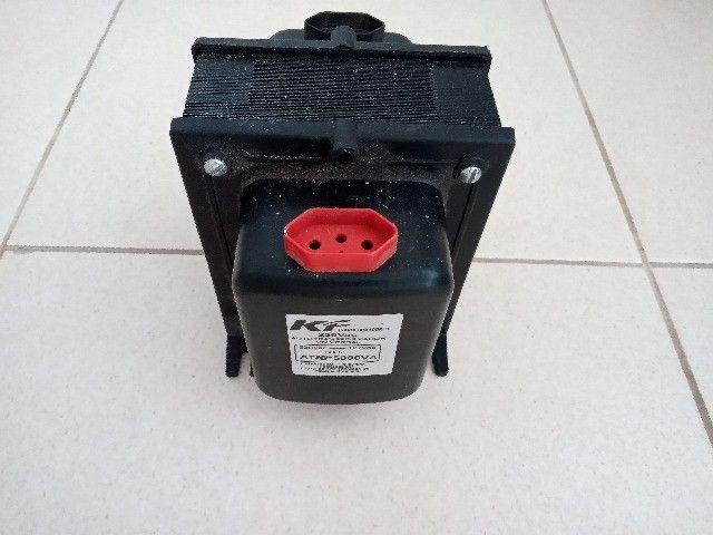 Vendo Autotransformador Universal R$ 250,00 reais - Foto 2