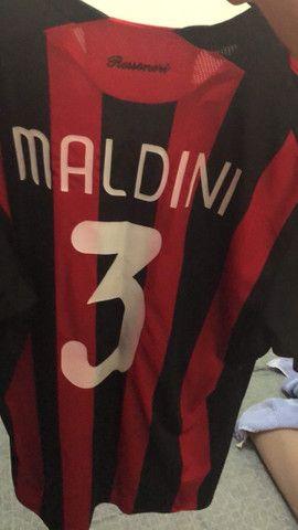 Camisa original Maldini - Foto 3