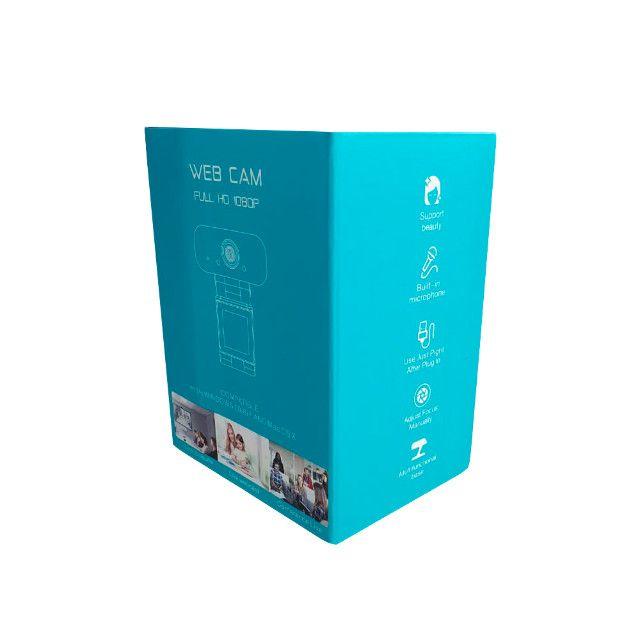 Webcam Full Hd 1080p Usb Com Microfone - Foto 6