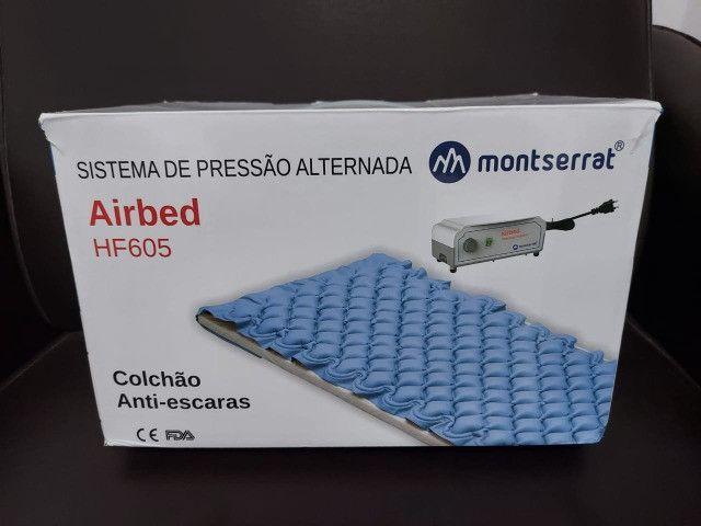 Colchão Antiescaras Massageador Airbed Com Motor - Foto 3