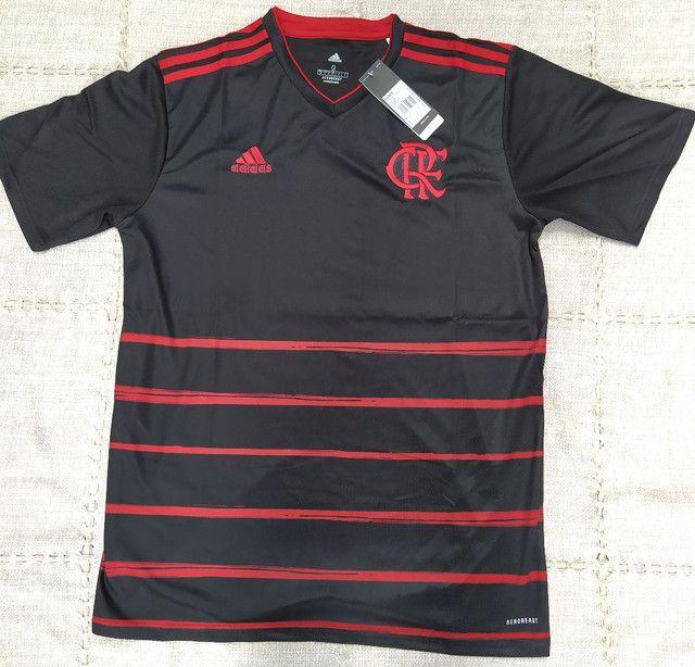 Camisa Flamengo Adidas 2021 Original Importada Entrego - Foto 2