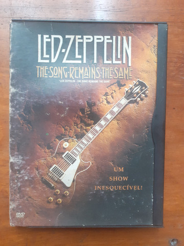 Dvd Led Zeppelin, The son remains the same