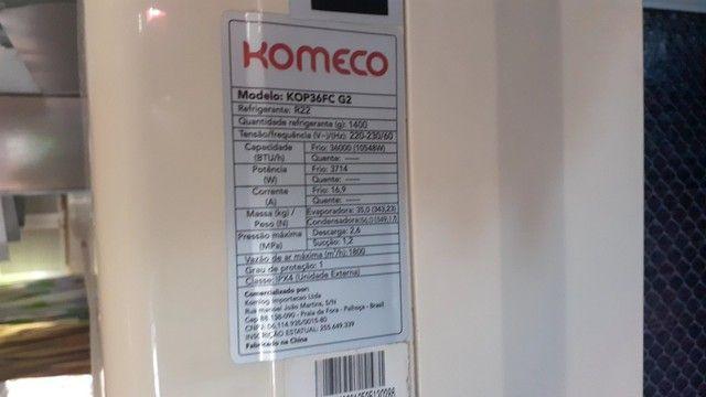 Ar-condicionado komeco 36000 btu