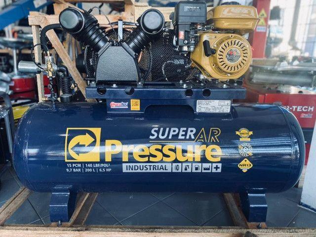 Compressor de Ar Gasolina 15 Pés