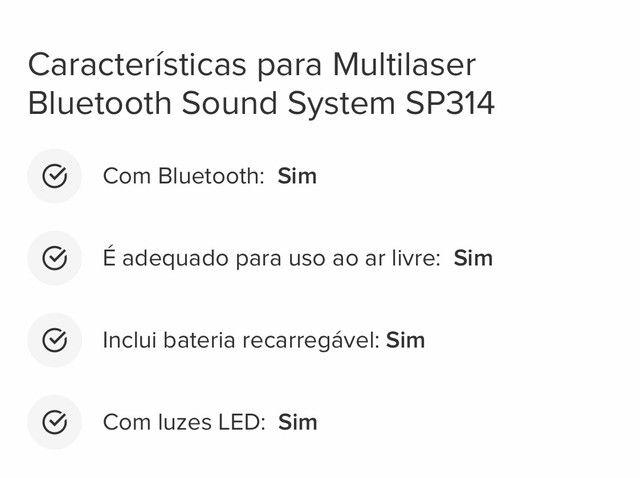 Caixa de som bluetooth sound - Foto 5