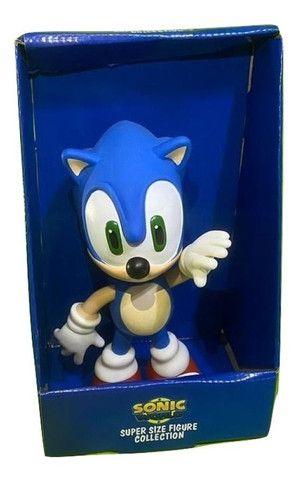 Boneco Sonic Grande 23cm Promoção  - Foto 2