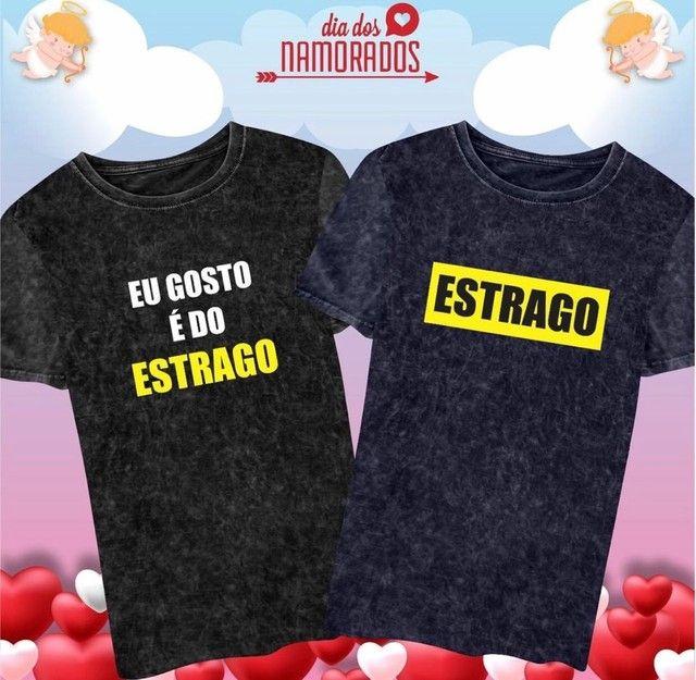T-shirts Casal Dia dos Namorados - Foto 2