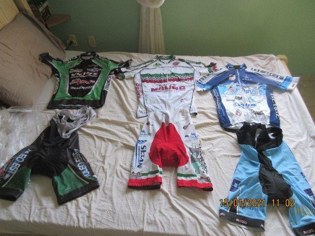 Roupas de ciclismo , tamanho G-M-P boa qualidade - Foto 3