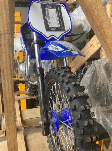 Minimoto TR100F Pro Tork 100cc aro 14/12 Motocross - Foto 3