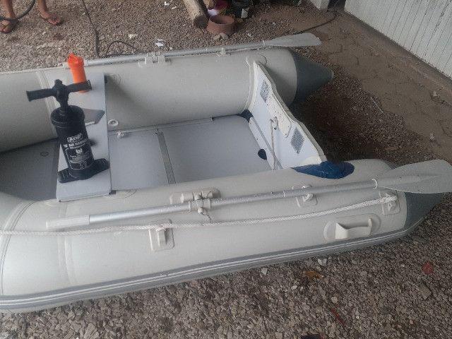Barco hidro-force vendo ou troco por algo do meu interesse R$1.000,00 - Foto 4