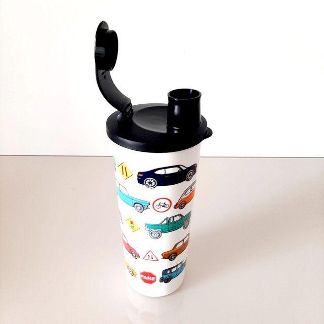 Kit copo e lancheira Tupperware  - Foto 2
