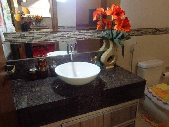Casa com 5 dormitórios à venda, 490 m² por R$ 2.200.000,00 - Condomínio Florais Cuiabá Res - Foto 3