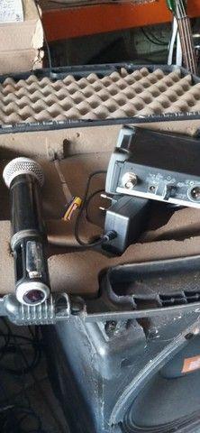 Microfone Shure. SLX 4 mhz L4638-662 - Foto 6
