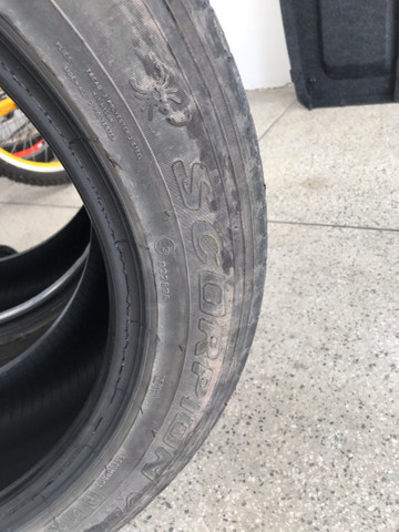 Pneu usado Pirelli Aro 18 - Foto 3