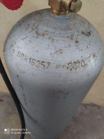 Cilindro de co² com regulador - Foto 3