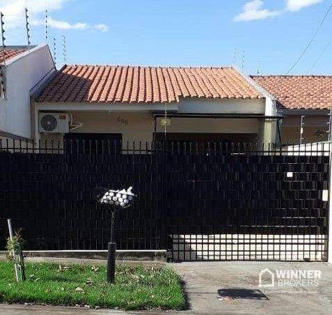 Casa com 2 dormitórios à venda, 62 m² por R$ 240.000,00 - Parque Tarumã - Maringá/PR