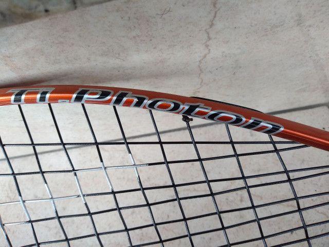 Raquete tênis Wilson Head - 19 fios - Foto 5