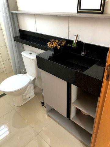 Apartamento novo com 2 dorm. semi-mobiliado, decorado pronto pra morar - Areis-São José - Foto 6